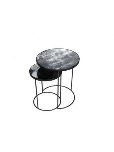 Charcoal Nesting Side Table Set