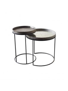 Round Tray Tables - Set/2