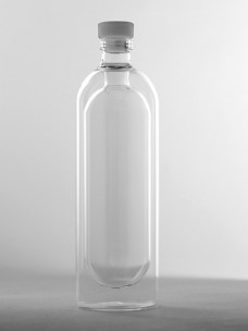 Dubbelwandige Fles Met Dop