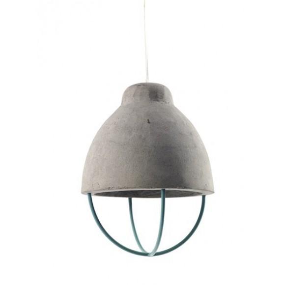 Lamp Feeling Beton D17 H24 Groen Ijzer