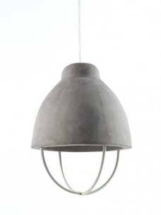 Lamp Feeling Beton D17 H24 Wit Ijzer
