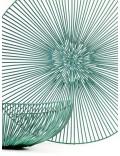 Platte Schaal Edo Dia50 H7 Lichtblauw